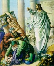 Jesus Purging the Temple