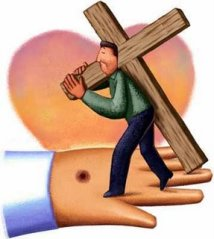 Union with Christ by taking up the cross of suffering