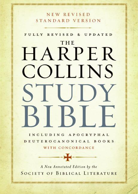 Harper Collins Study Bible: A Review | DANGITBILL!