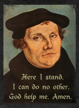"""martin luther trial New york -- the drama unfolds in a gothic sanctuary in a limbo zone between heaven and hell in this new off-broadway play -- """"martin luther on trial"""" -- lucifer requests new proceedings."""