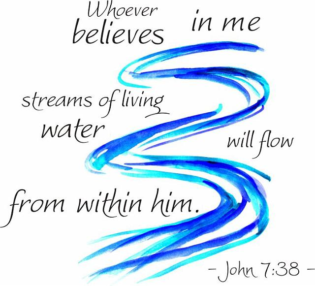 The Crowd Debates the Source of Living Water (John 7:1-52