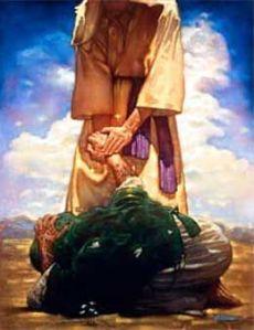Jesus touched the untouchable leper