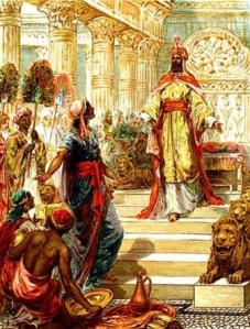 "The ""wisdom and glory"" of King Solomon"