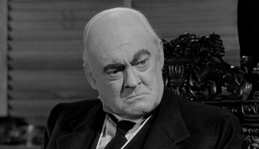 Mr. Potter from the film It's a Wonderful Life