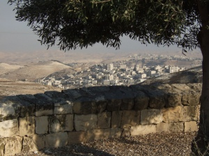 View today of Jerusalem from the Mount of Olives