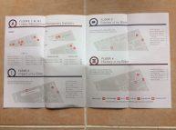 Museum Guide map floors mezzanine, basement, 1-4